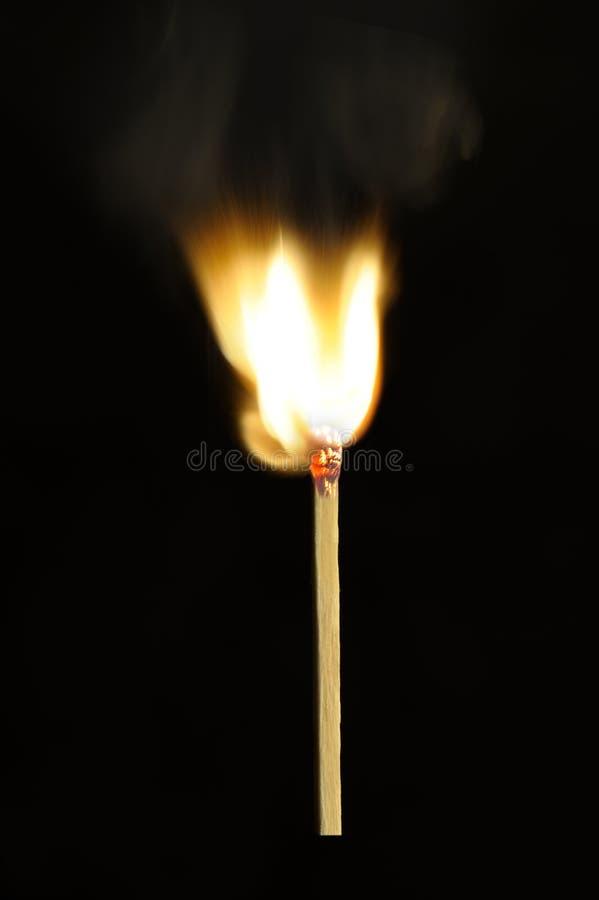 Download Burning match stock photo. Image of light, lighting, heat - 21967252