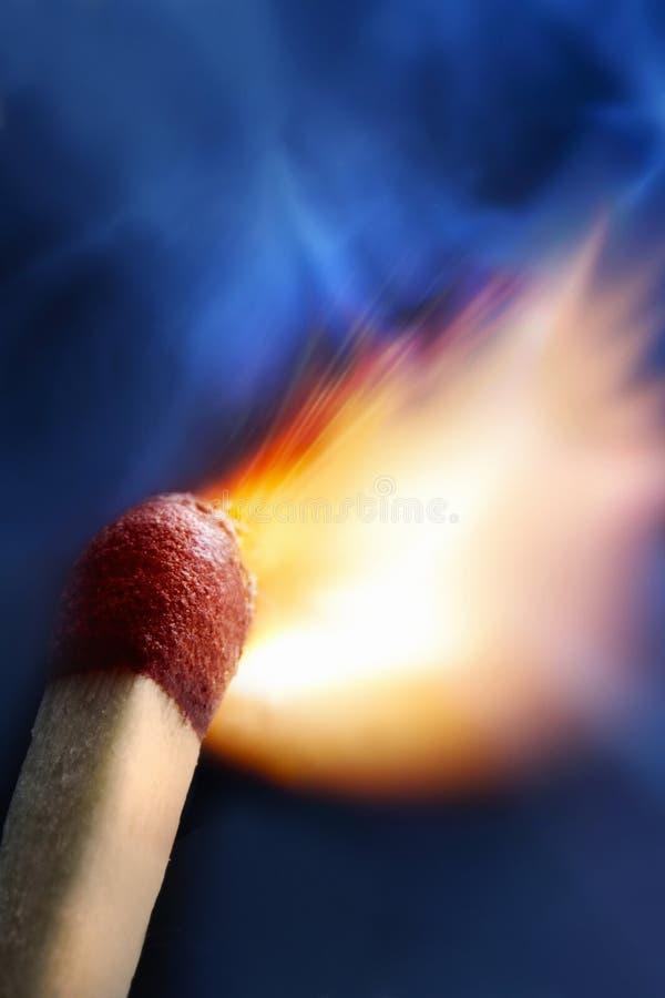 Download Burning Match Royalty Free Stock Image - Image: 22399106