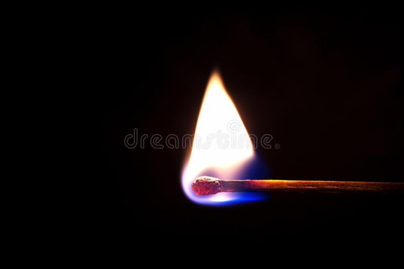 Download Burning match stock photo. Image of fire, object, blaze - 24426946