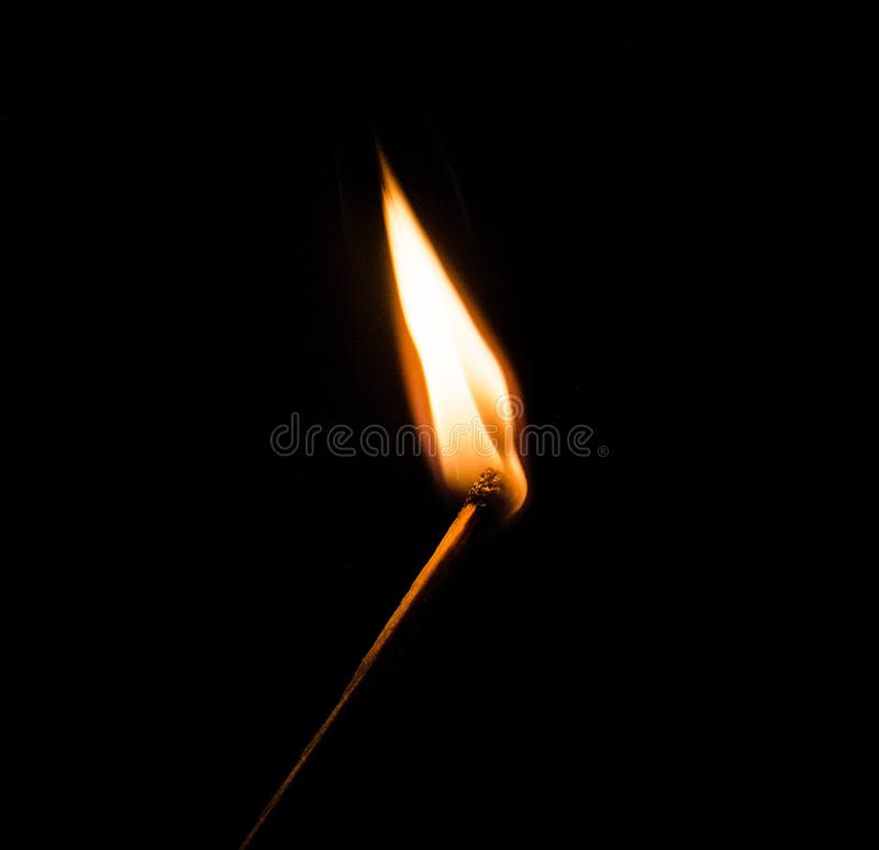 Download Burning match stock photo. Image of object, dangerous - 28745724
