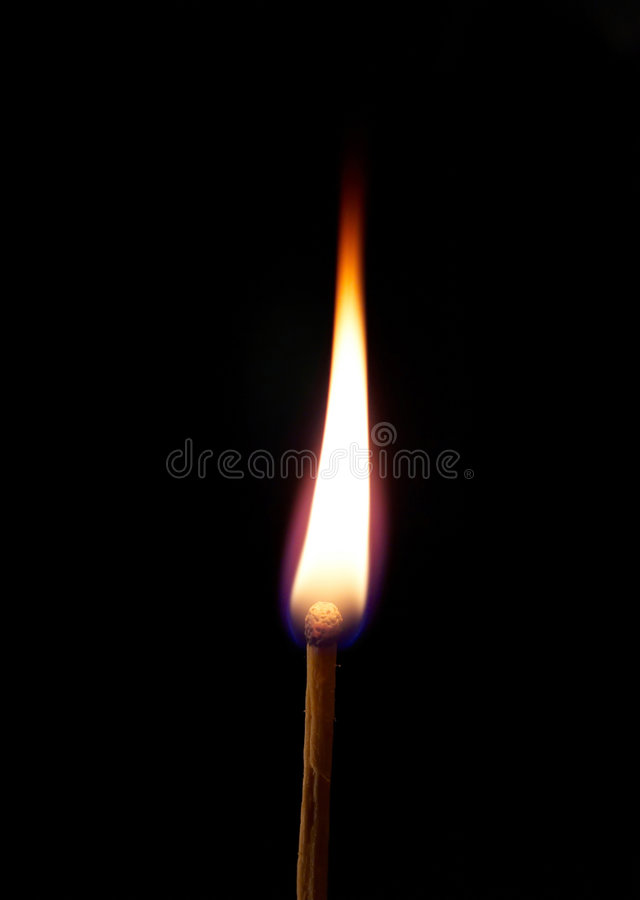Download Burning match stock image. Image of abstract, meditating - 5520195