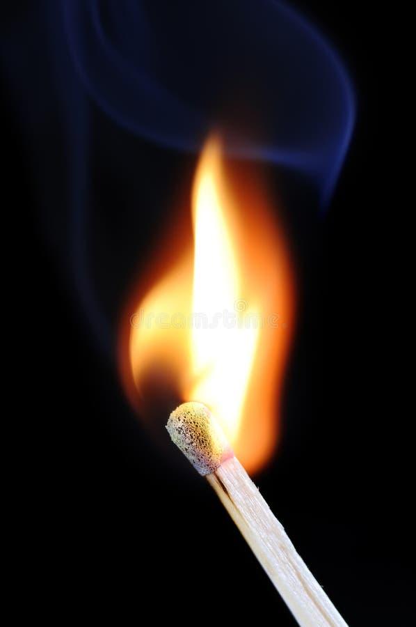 Download Burning match stock photo. Image of smoke, heat, burning - 6883196