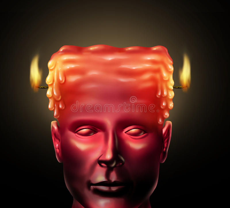 Download Burning Out stock illustration. Image of distraught, burn - 31941223