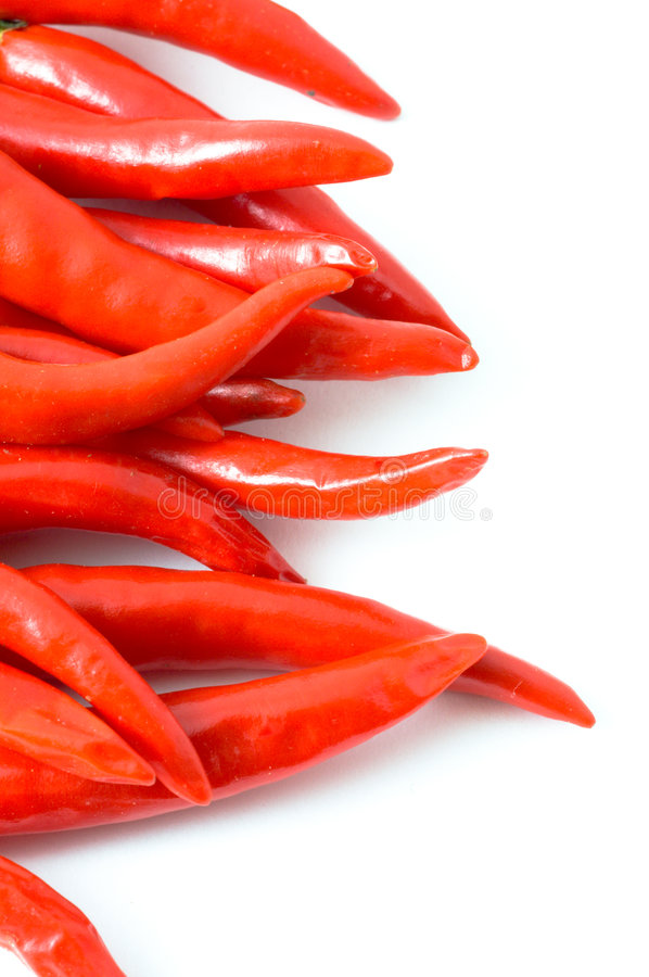 Burning Pepper Royalty Free Stock Photos