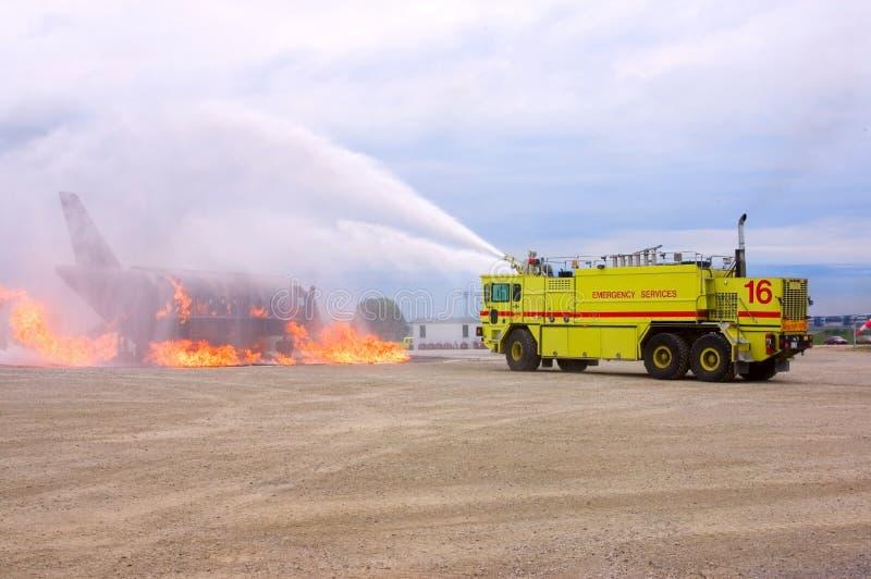 Download Burning Plane Editorial Stock Photo - Image: 2778088