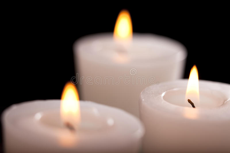 Download Burning scented candles stock photo. Image of still, elegance - 11154294