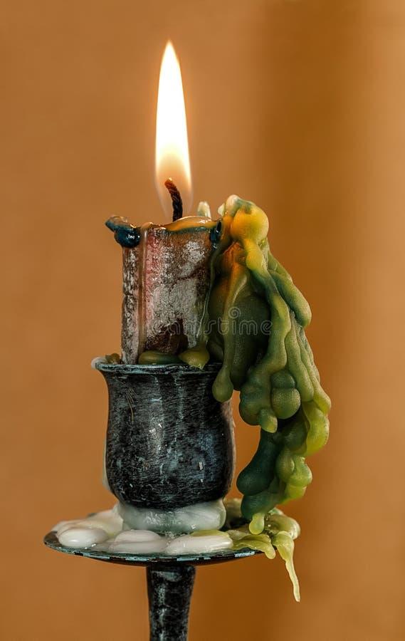 Burning Wax Candle Free Public Domain Cc0 Image