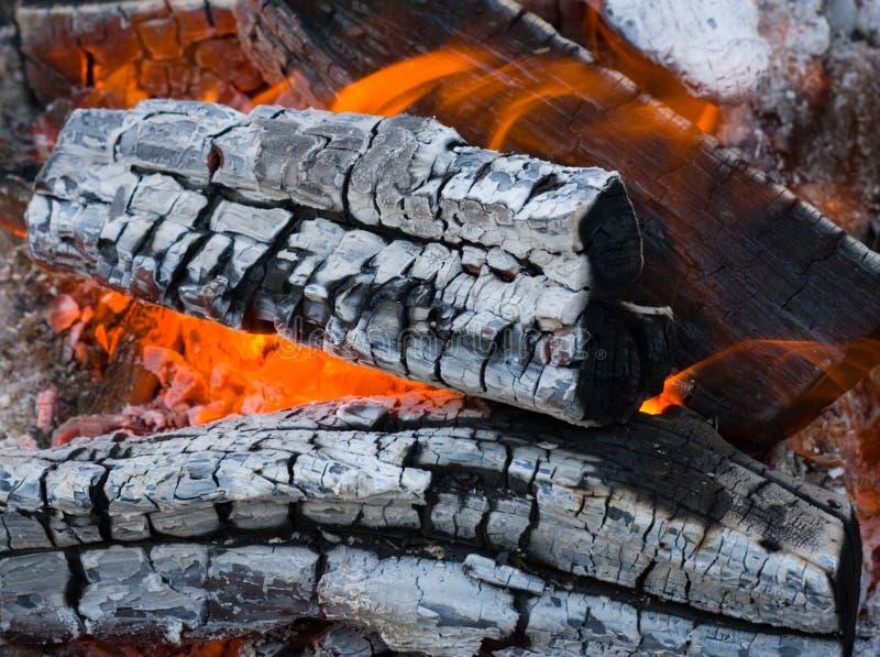 Download Burninging firewood stock image. Image of energy, glowing - 7355131