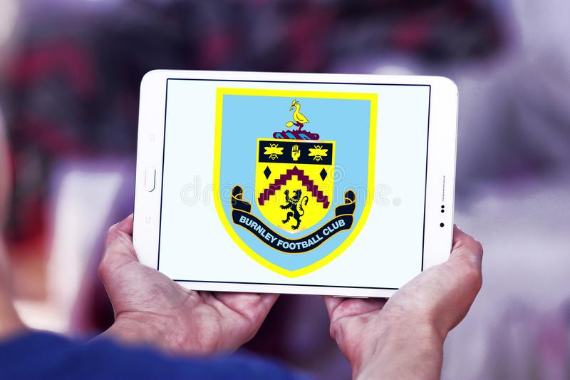 Burnley F C Logo de club du football photo libre de droits