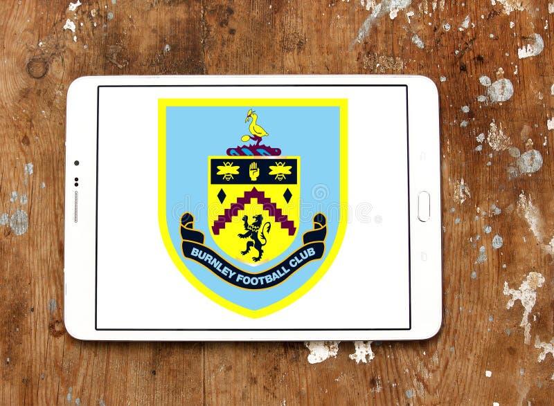 Burnley F C Piłka nożna Świetlicowy logo ilustracja wektor