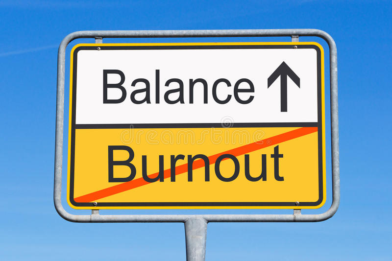 Download Burnout and balance sign stock image. Image of points - 24795715