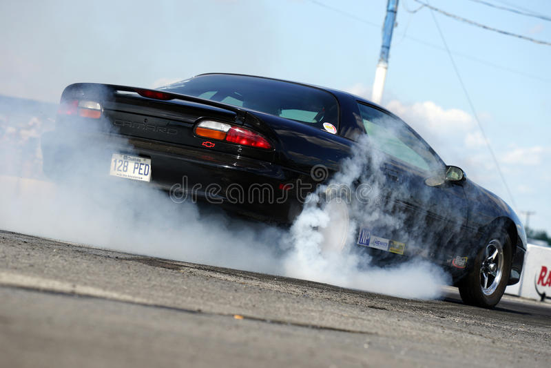 Burnout di Camaro immagini stock libere da diritti