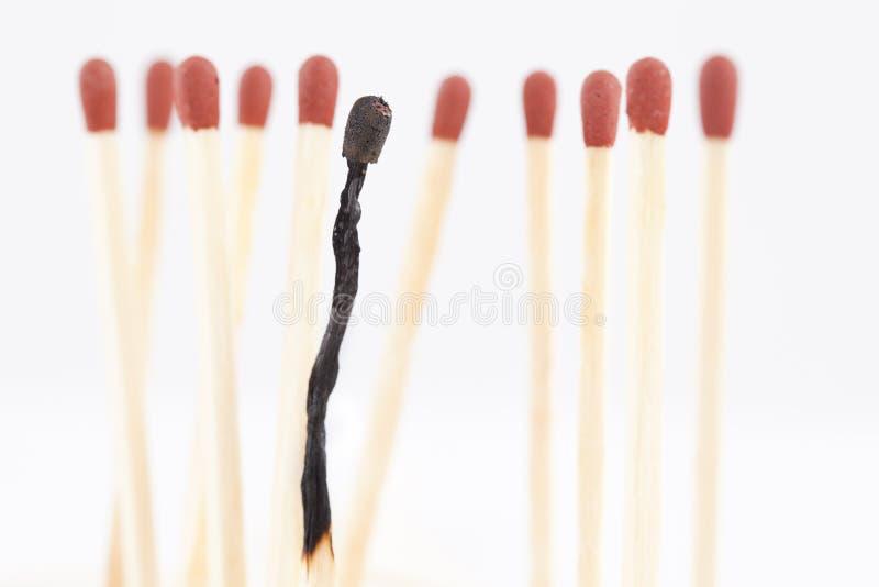 Download Burnout matches stock photo. Image of macro, symbol, closeup - 21815010