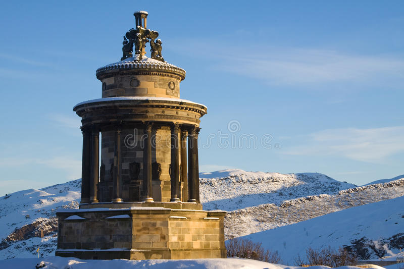 Download Burns Monument, Calton Hill, Edinburgh Stock Image - Image: 18241741