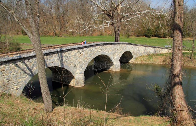 Burnside-Brücke stockfotos