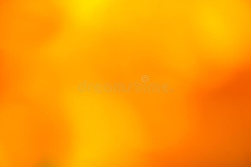 Burnt amber and orange soft blurred background. Burnt amber and orange soft focus image for a bright vivid background stock illustration
