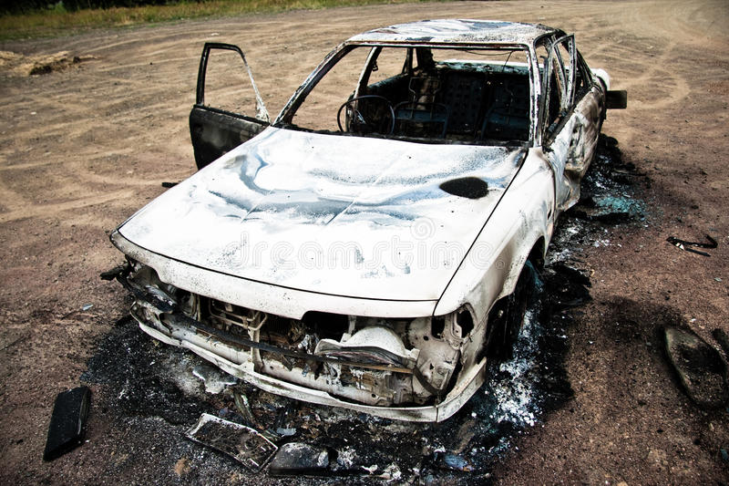 Burnt Car 1