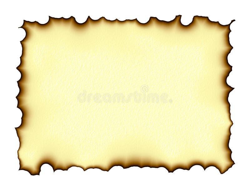 Download Burnt edges parchment stock illustration. Illustration of antique - 11177468
