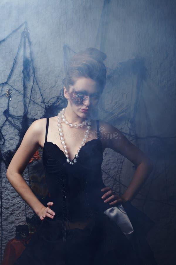 Burnt Glamorous Girl Royalty Free Stock Photography