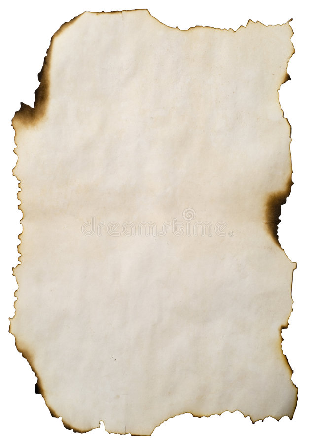 Free Burnt Old Paper Royalty Free Stock Image - 4700296