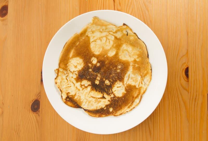 Download Burnt pancake stock photo. Image of snack, pancake, burnt - 28103272