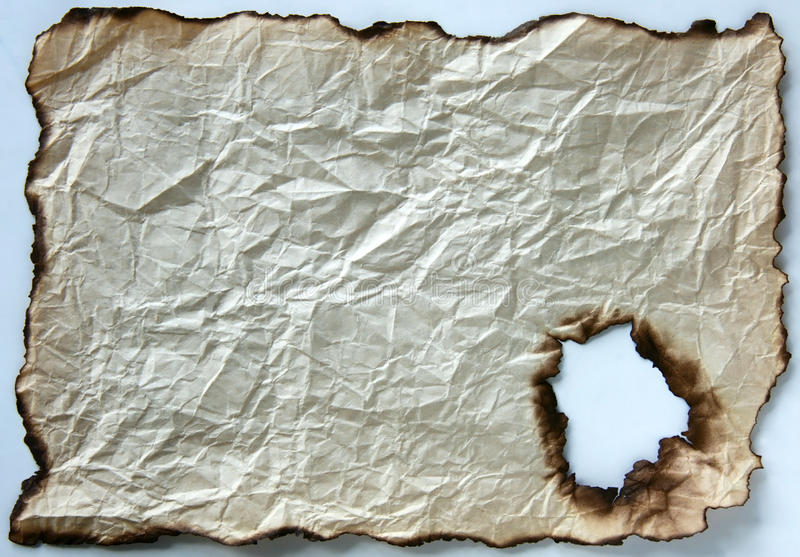Download Burnt paper stock image. Image of parchment, abstract - 24478507