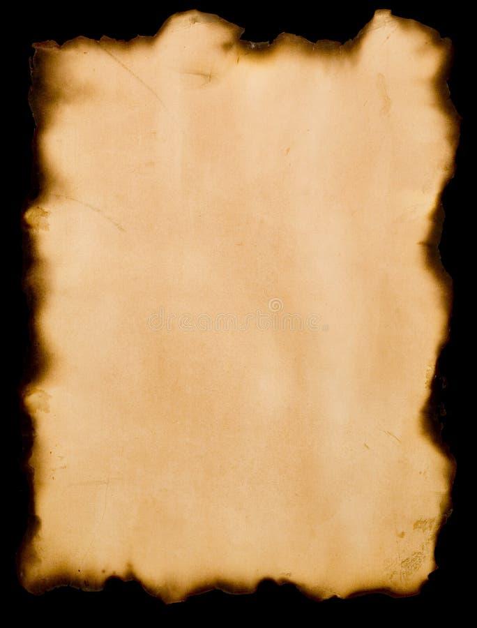 Burnt paper stock illustration