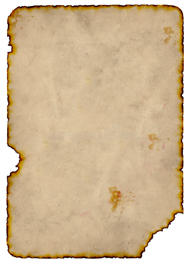 Burnt Paper royalty free stock images
