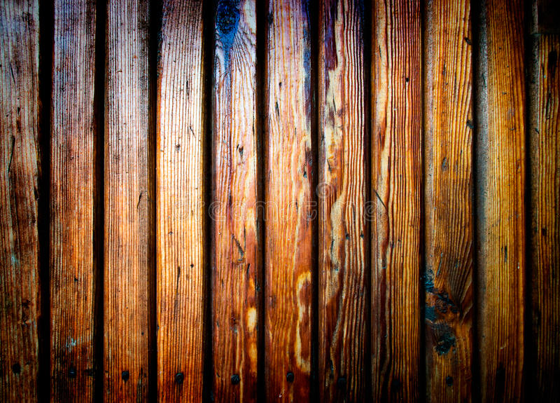 Burnt wooden plank royalty free stock image