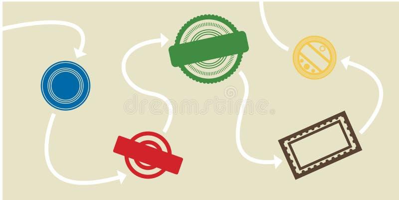 burocrazia illustrazione vettoriale