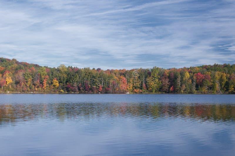 Burr Pond State Park Torrington Connecticut lizenzfreies stockbild