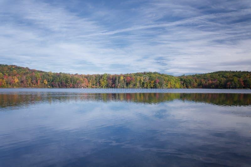 Burr Pond State Park Torrington Connecticut stock photography