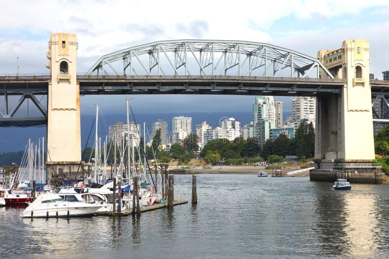 Download Burrard Bridge Granville Island, Vancouver BC. Stock Photo - Image: 21045684