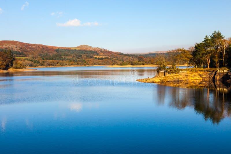 Burrator-Reservoir Dartmoor Devon stockfotos
