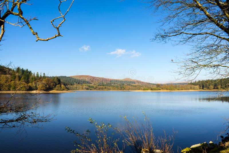 Burratorreservoir Dartmoor Devon royalty-vrije stock fotografie