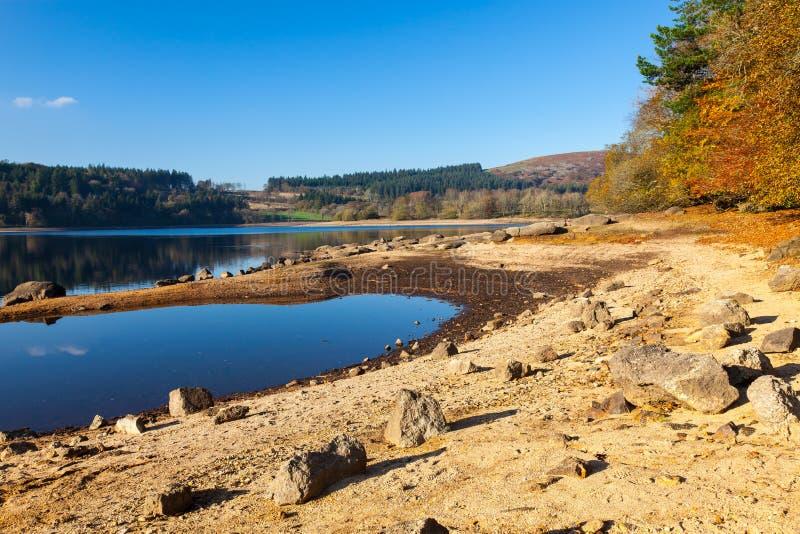 Burratorreservoir Dartmoor Devon stock fotografie