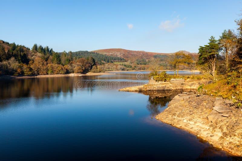 Burratorreservoir Dartmoor Devon stock foto's