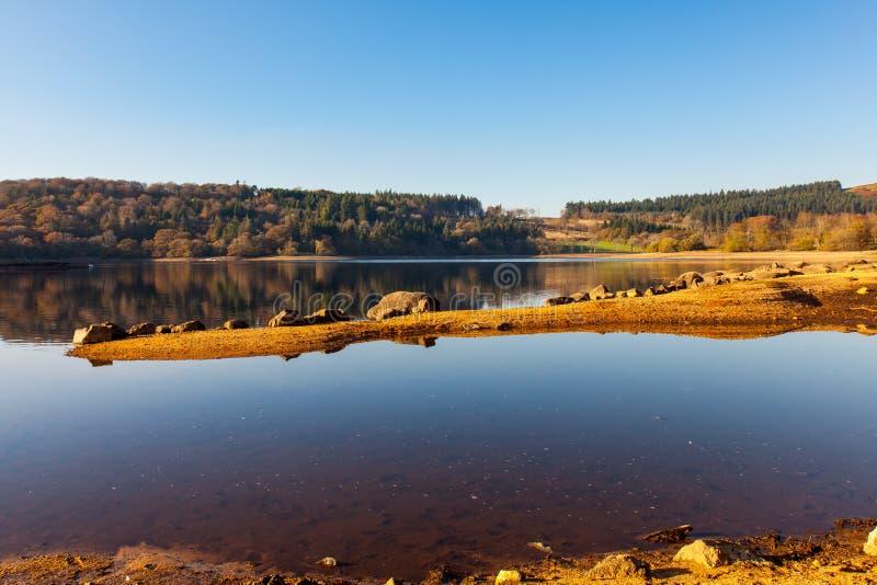 Burratorreservoir Dartmoor Devon royalty-vrije stock foto's