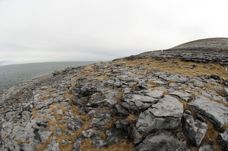 Burren krajobraz Co. Clare, Irlandia, - zdjęcia royalty free