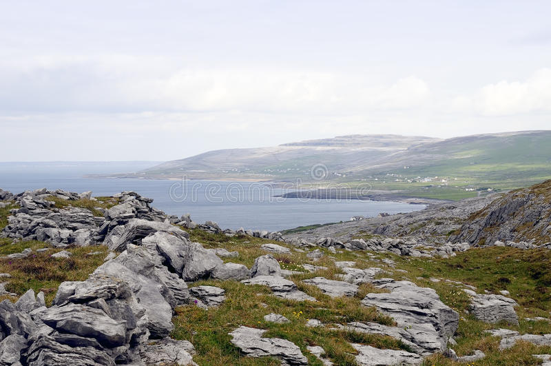 The Burren near Derreen, West Eire royalty free stock photography