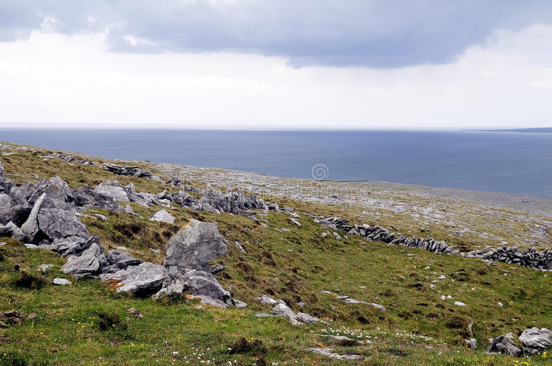 The Burren near Derreen, West Eire royalty free stock images