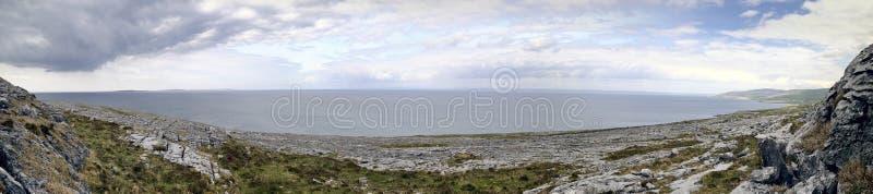 The Burren near Derreen, West Eire stock images