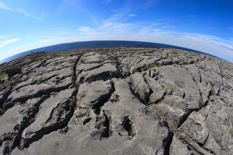 Burren region zdjęcie stock