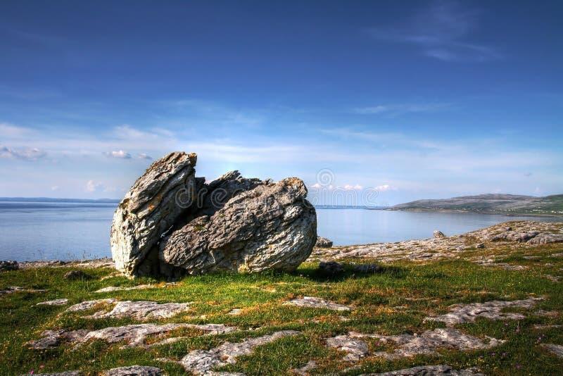 Burren rock stock photos