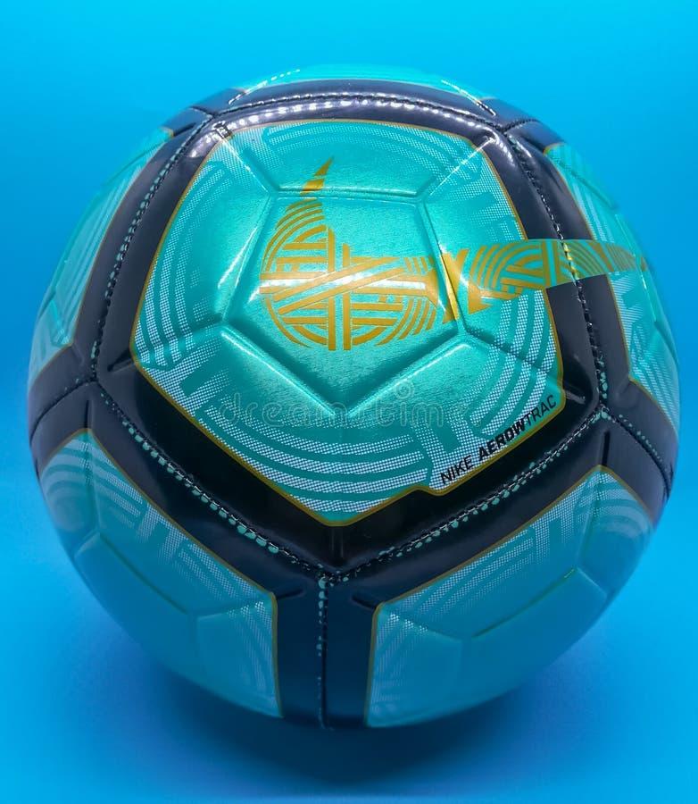Burriana, Spanien 11/06/18: Nike-Ball lizenzfreie stockbilder