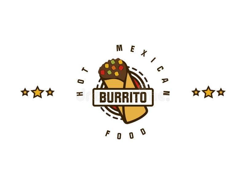 burrito royalty ilustracja