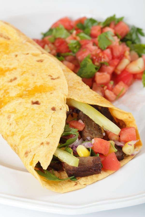 Burrito fotografie stock