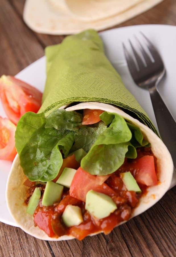 Burrito immagine stock libera da diritti