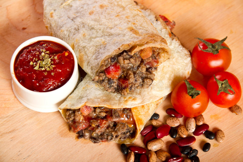 Burrito photo stock