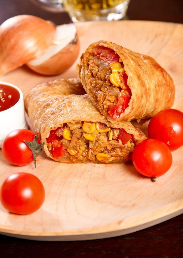 Burrito photographie stock libre de droits